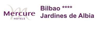 Mercure Bilbao Jardines de Albia logo